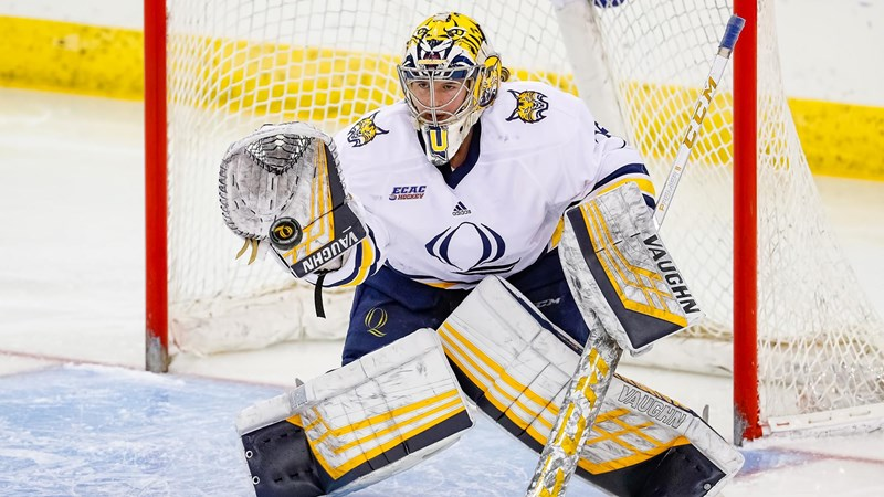 Ives Selected for USA Hockey Goaltending Development Program - Quinnipiac University Athletics
