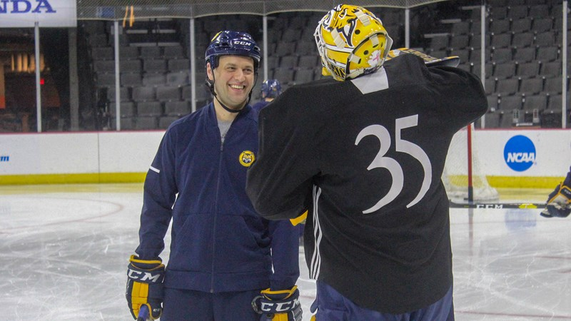 Waimon Named to USA Hockey Goaltending Development Program Staff - Quinnipiac University Athletics